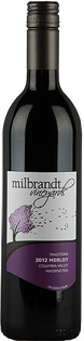 Milbrandt Vineyards Merlot Traditions 2012 750ml